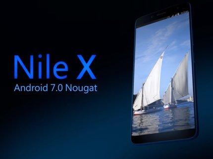 Стартовал предзаказ на 1-ый  египетский смартфон Nile X