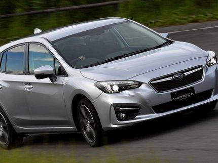 Новая Субару Impreza названа «Автомобилем года» вЯпонии